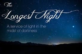 Longest Night Service, December 21 at First Baptist