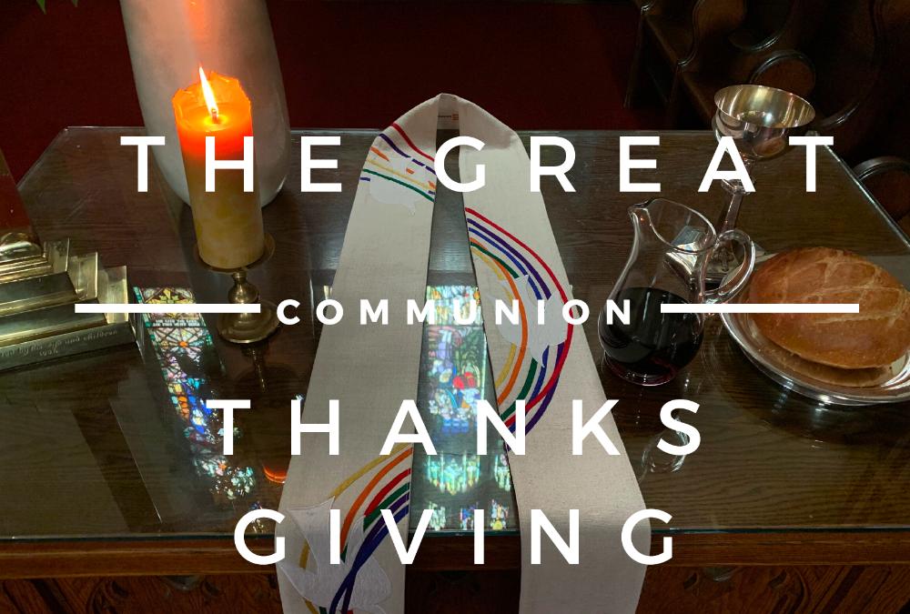 On-line Worship – Sunday May 31, 10:30 am